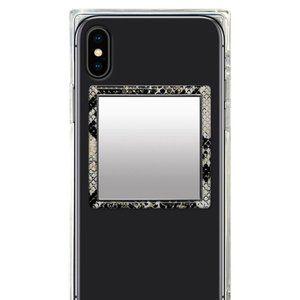 faux Snakeskin design phone mirror sticker IDECOZ